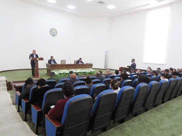 Халқ депутатлари Қизилтепа туман Кенгашининг навбатдан ташқари 5-сессияси
