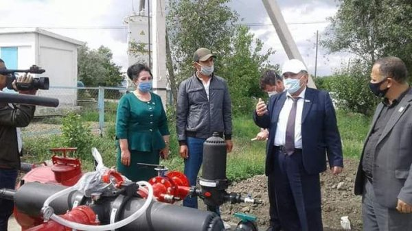Ўзбекистон Экологик партияси Марказий кенгаши раиси туманимизда бўлди